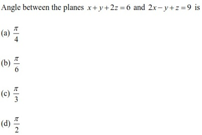 WBJEE Three Dimensional Geometry Q2