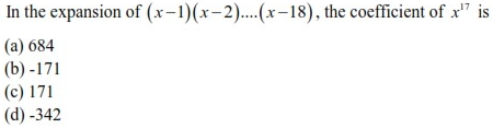 WBJEE Binomial Theorem Question(2)
