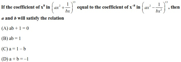 WBJEE Binomial Theorem Question(5)