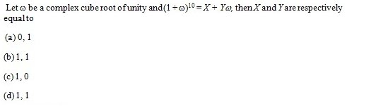 UPSEE Complex number Question 1