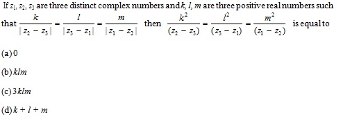 WBJEE Complex number Question 2
