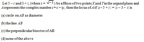 WBJEE Complex number Question 3