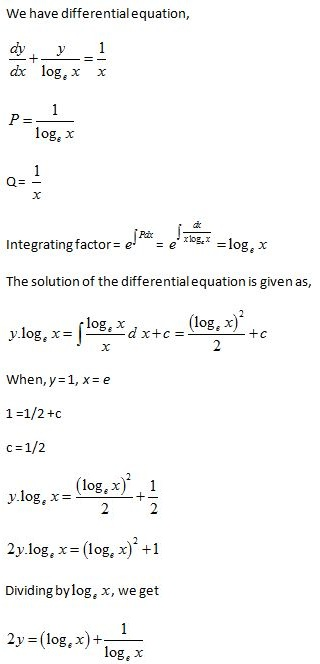 WBJEE Differential Equations S1