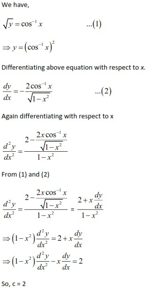 WBJEE Differential Equations S2
