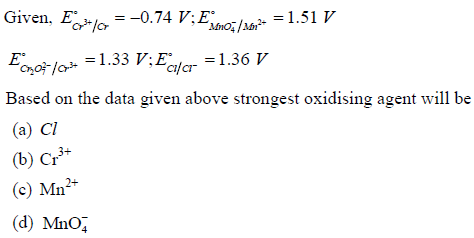 WBJEE Electrochemistry Q3