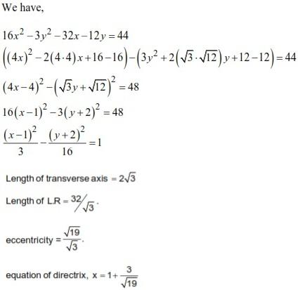 WBJEE Hyperbola Solution 3