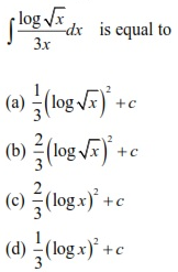 WBJEE Integrals Question 3