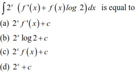 WBJEE Integrals Question 4