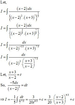 WBJEE Integrals Solution 2