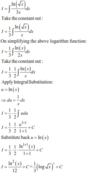 WBJEE Integrals Solution 3