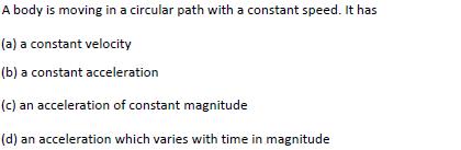 WBJEE Kinematics Question 4