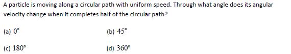 WBJEE Kinematics Question 5