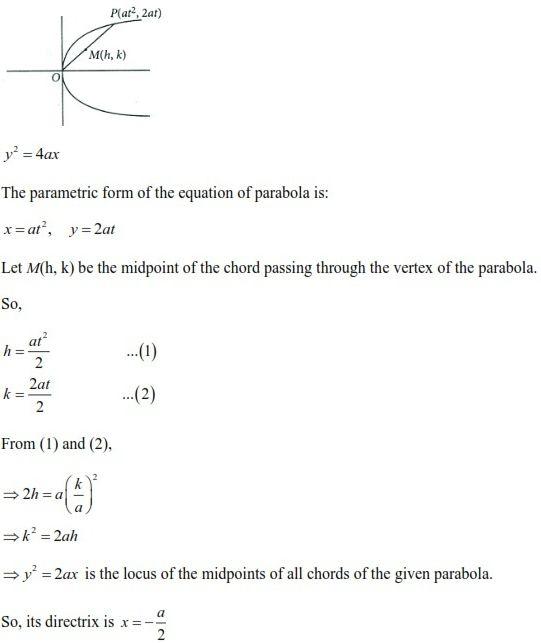 WBJEE Parabola Solution 1