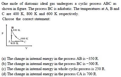 WBJEE Thermodynamics Question 1