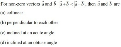 WBJEE Vectors Question 1