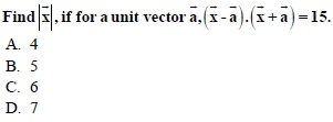 WBJEE Vectors Question 4