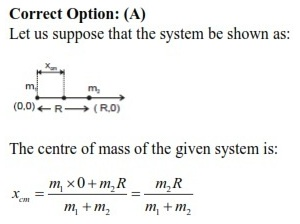 WBJEE centre of mass solution 2