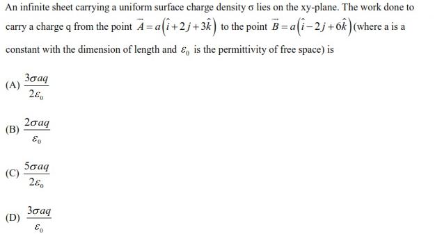 WBJEE Electrostatics question 5
