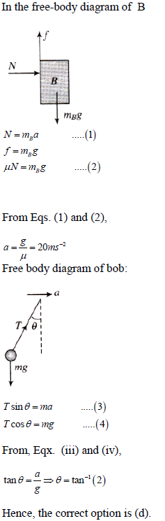 WBJEE laws of motion solution 4