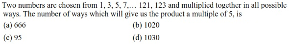 WBJEE Permutation and Combination question 3