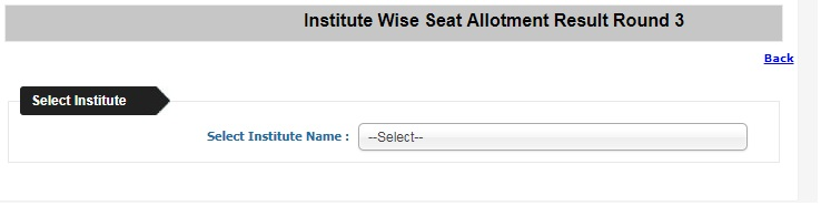 WBJEE 2018 Seat Allotment