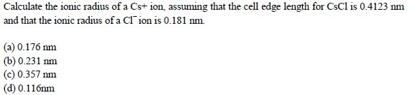 WBJEE Solid State question 3