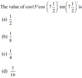 WBJEE Trigonometric Functions Q4