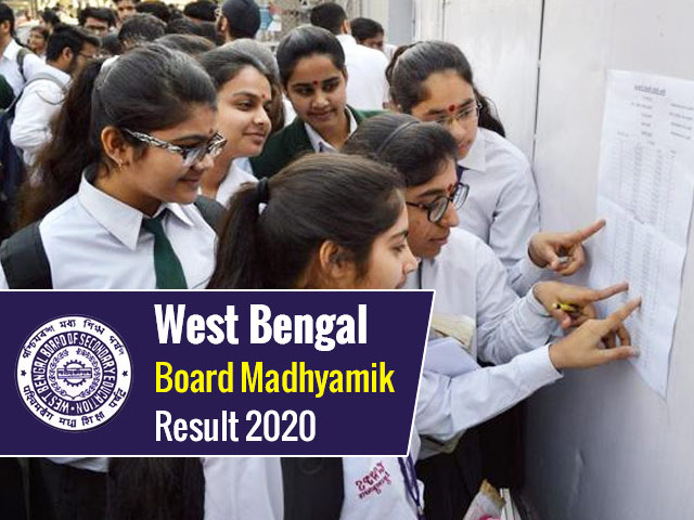 West Bengal Board Madhyamik (10th) Result 2020