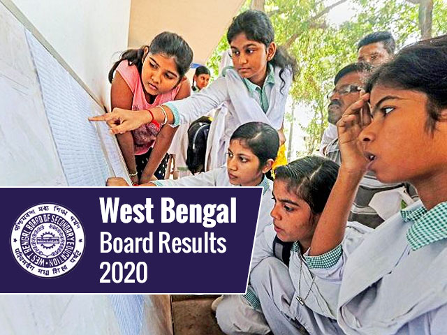West Bengal Board (Madhyamik/Higher Secondary) Results 2020
