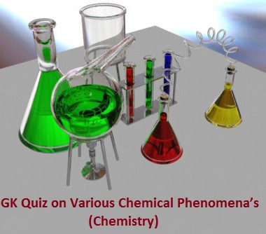 What is Chemical phenomena