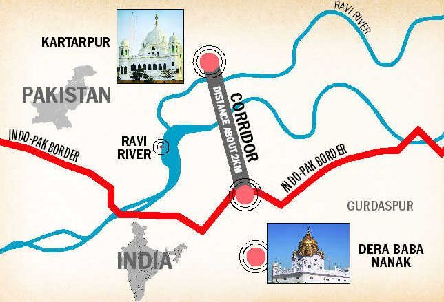What is Kartarpur Sahib Corridor