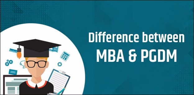 What is the difference between MBA and PGDM program?