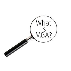 What is MBA?
