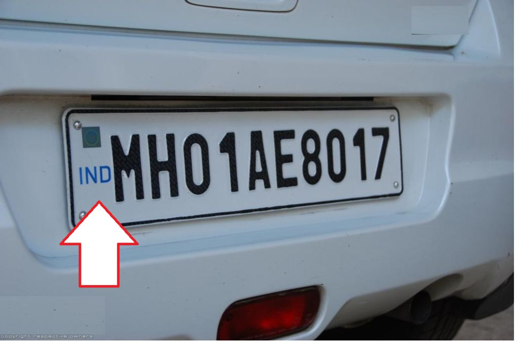 "Why ""IND"" is written on Indian Vehicle number plates?"