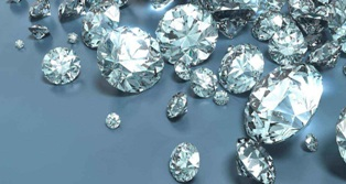 Why diamond shine and sparkle