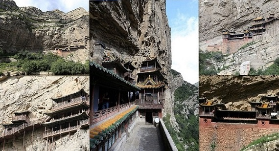 All about World's Only Hanging Monastery in Hindi