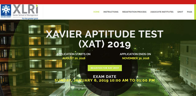 XAT 2019 online registration to begin from August 20 Check details at xatonline in