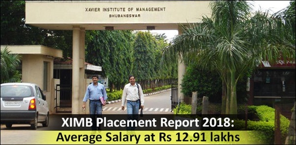 XIMB Placement Report 2018: Average Salary at Rs 12 91 lakhs