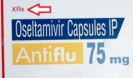 XRx on medicine strip means
