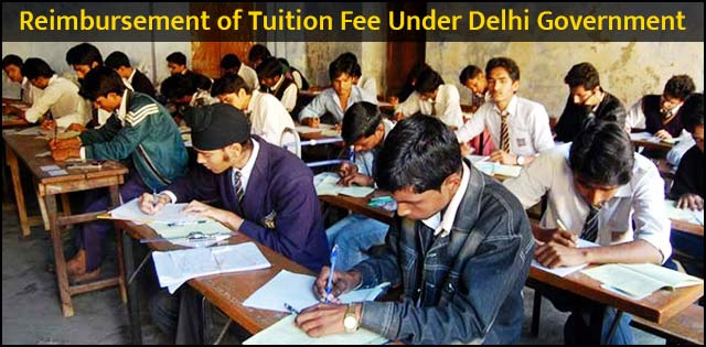 Reimbursement of Tuition Fee Under Delhi Governmen
