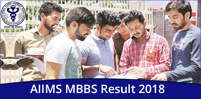 AIIMS MBBS Result 2018