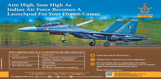 IAF Commissioned Officer Jobs