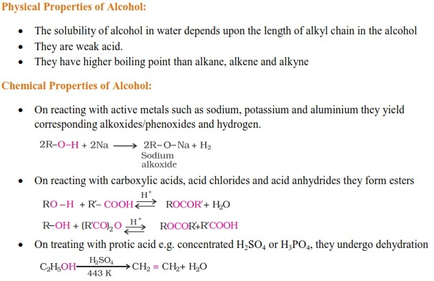 WBJEE Alcohols Concepts 2