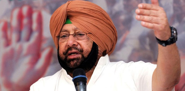 Punjab Chief Minister Amrineder Singh