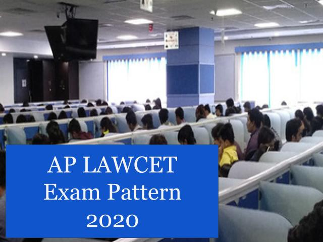 AP LAWCET test  Pattern 2020
