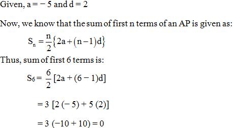 Arithmetic Progressions MCQs