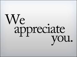 Appreciate the person