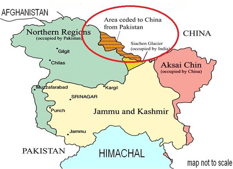 Pakistan Occupied Kashmir Map 15 Interesting Facts and History about Pakistan Occupied Kashmir (POK) Pakistan Occupied Kashmir Map