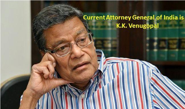 attorney general india KK venugopal