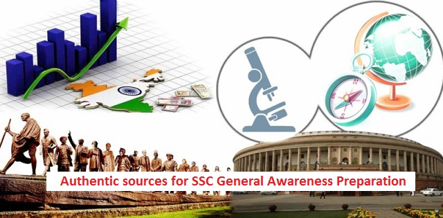 SSC Exams Preparation: Authentic sources of General Awareness Section